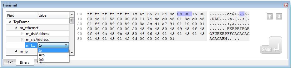 Packet Builder - IO Ninja