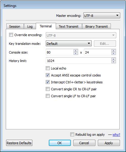 Terminal Emulator - IO Ninja